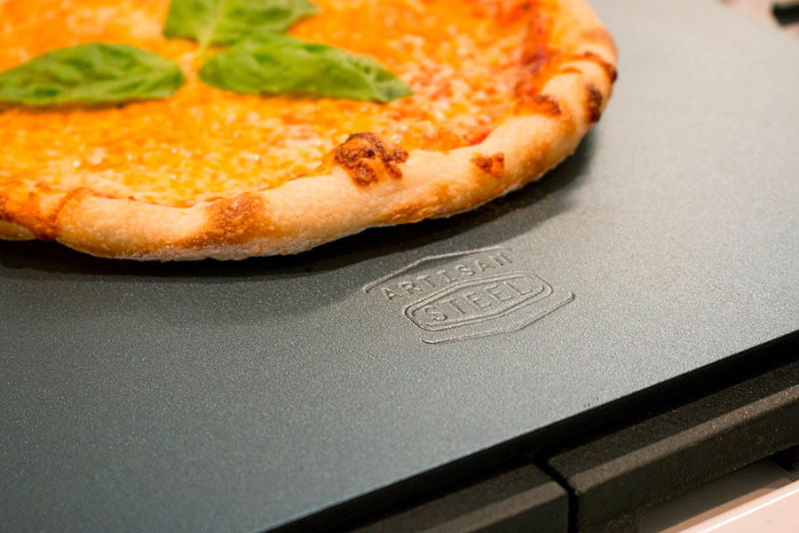 Artisan Steel high performance pizza steel for making pizza at home